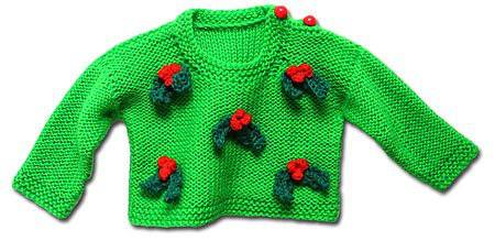 Knitted baby and child sweater patterns (261)