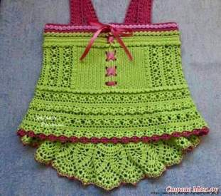 Knitted Children Dress pattern