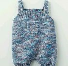 Knitted baby dress, vest, cardigan, sweater, overalls patterns (117)