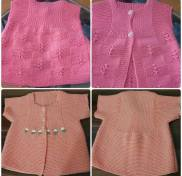 Knitted baby dress, vest, cardigan, sweater, overalls patterns (120)