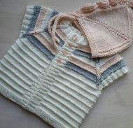 Knitted baby dress, vest, cardigan, sweater, overalls patterns (131)