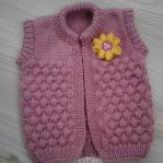 Knitted baby dress, vest, cardigan, sweater, overalls patterns (171)