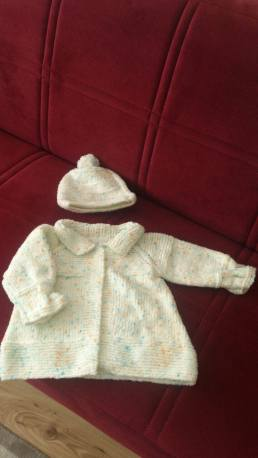 Knitted baby dress, vest, cardigan, sweater, overalls patterns (274)