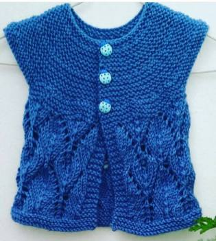 Knitted baby dress, vest, cardigan, sweater, overalls patterns (298)
