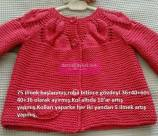 Knitted baby dress, vest, cardigan, sweater, overalls patterns (718)