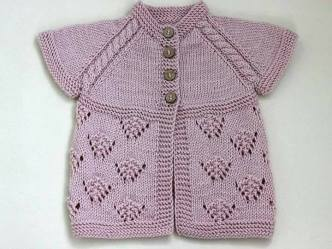 Knitted baby dress, vest, cardigan, sweater, overalls patterns (740)