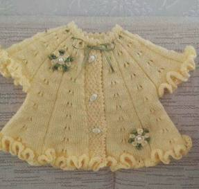 Knitted baby dress, vest, cardigan, sweater, overalls patterns (796)
