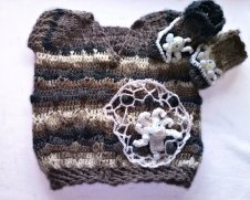 Knitted baby sweater, vest patterns (15)