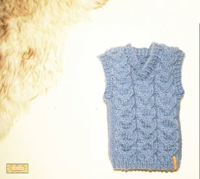 Knitted baby sweater, vest patterns (28)