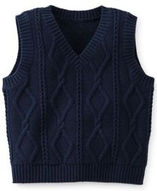 Knitted baby sweater, vest patterns (65)