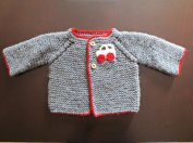 Knitted baby sweater, vest patterns (70)