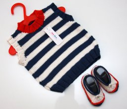Knitted baby sweater, vest patterns (88)