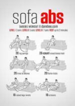 Chair Workout - Quick Chair Exercises (129)