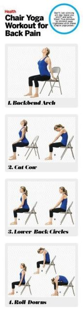 Chair Workout - Quick Chair Exercises (153)