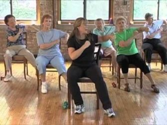 Chair Workout - Quick Chair Exercises (161)