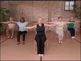 Chair Workout - Quick Chair Exercises (64)