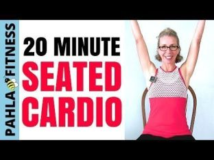 Chair Workout - Quick Chair Exercises (77)