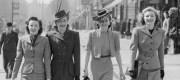 fashion ration 1940s street