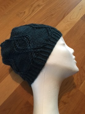 Side view of the Fernie hat