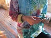 Tie Dye Knitting! - Knitting is Awesome