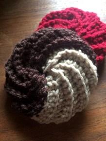 crochet dish scrubbies