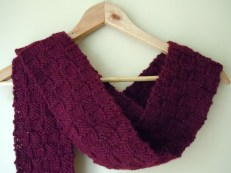 Tiny Box Knit Scarf