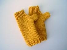 Kid's Fingerless Gloves