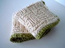 Basketweave Wash Cloths