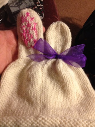 Bunny Tail Hat