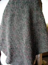 FREE BEGINNER CROCHETED SHAWL PATTERN   Crochet Tutorials