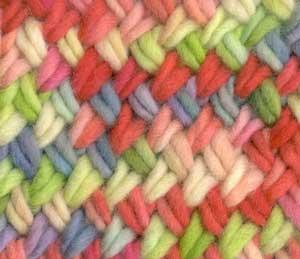 Crossed-Stitch Scarf