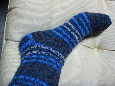Bungee Plain Vanilla Sock