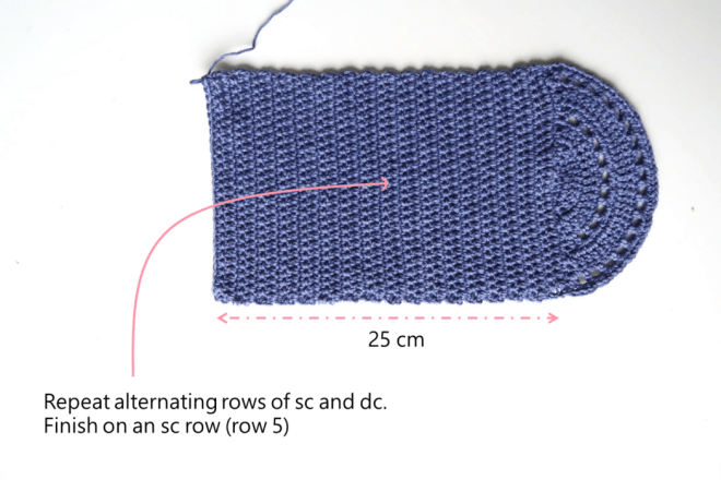 free crochet purse pattern step 13