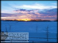 snowy sunsets ❤ #7