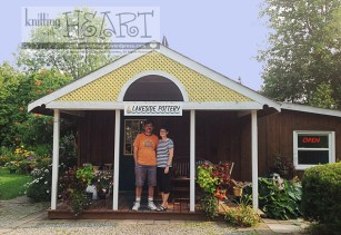 Ron & Barb of Lakeside Pottern in Niagara On The Lake, Ontario