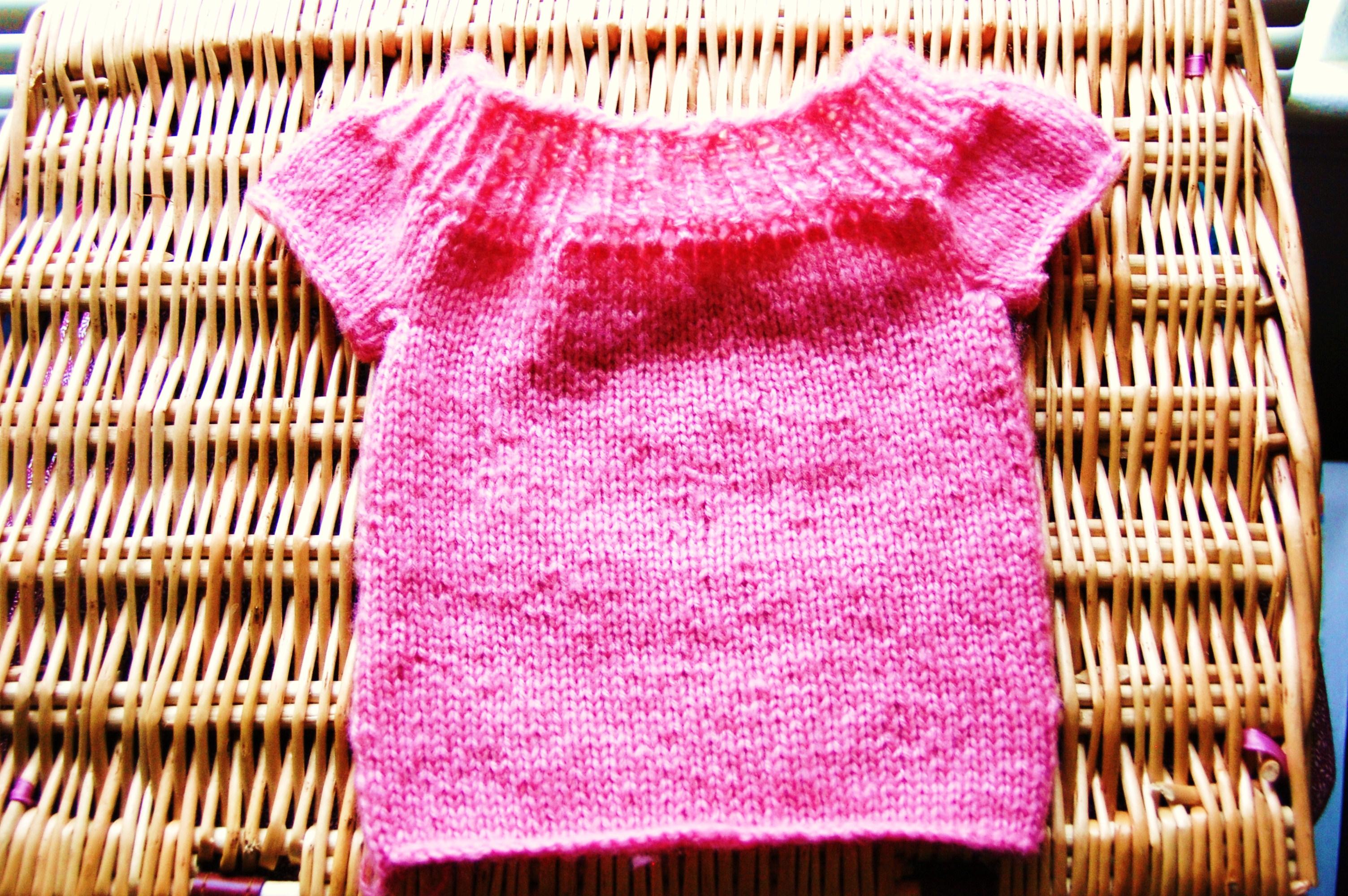 Pink Sweater 001