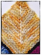 "Block #72 - May 11, 2014 - Apothecary Yarns in ""Buttercup"""