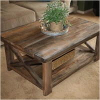 10 Ana White Rustic X Coffee Table Gallery