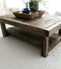 12 Reclaimed Wood Square Coffee Table Pictures | Coffee ...