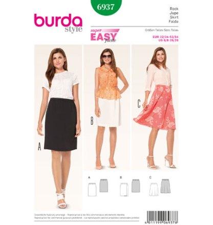 Burda-Style-6937-Skirt