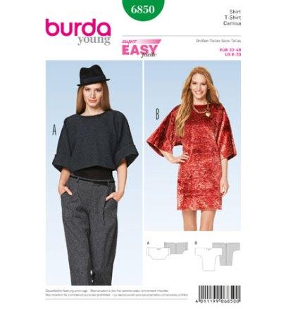 Burda-6850-T-Shirt
