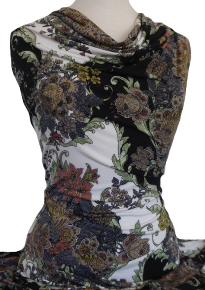 Knitwit Printed Jersey Knit Rhonda Floral