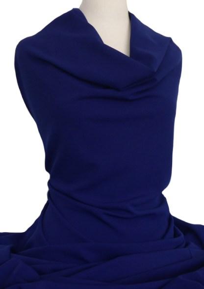 Knitwit Scuba Crepe Knit Ultramarine Blue