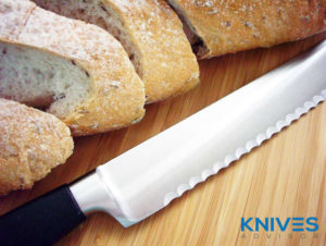Sharpen Knives with Serrated Edges