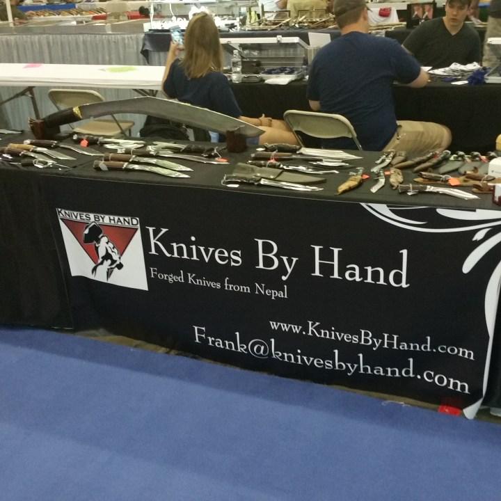 knivesbyhand.com bladeshow table