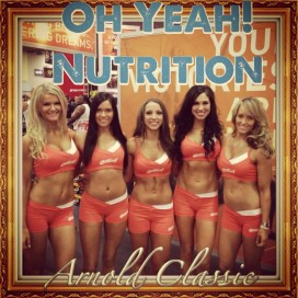 Oh Yeah! Nutrition Protein Powder Athletes Arnold Classic Mr. Olympia
