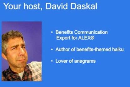 David Daskal Benefits Communication Expert ALEX®