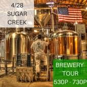 MSU Sugar Creek Brewery Tour 2016