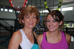 Karen and Kristen Miller Tennis Photoshoot