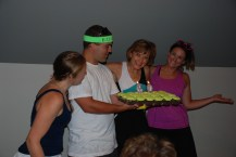 Happy Birthday Mom! with Tennis cupcakes